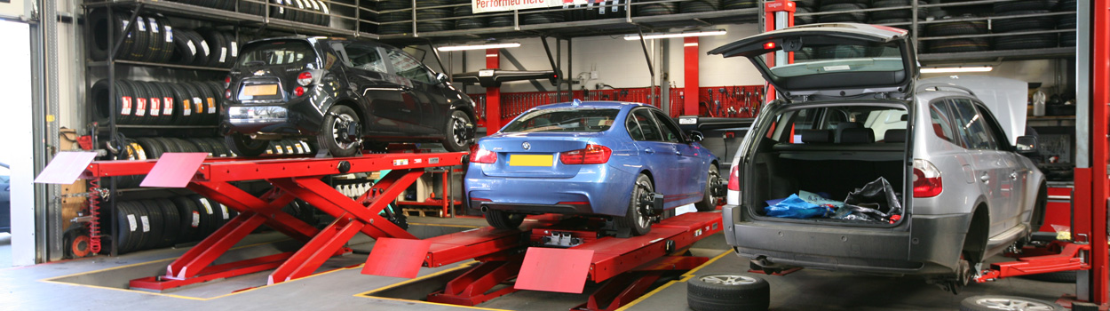 wheel alignment at Discount Tyres Luton